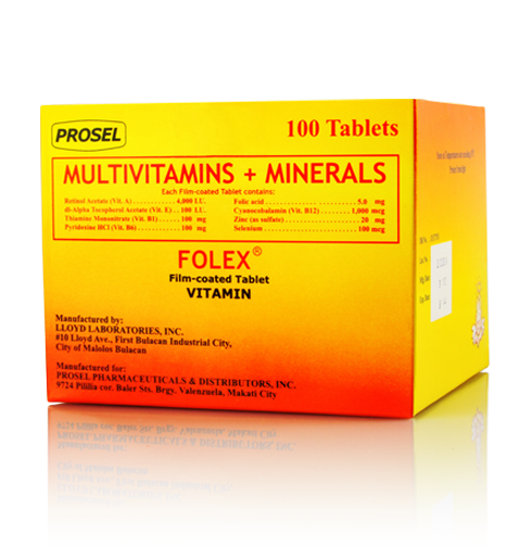 box 100 Folex_Vitamin